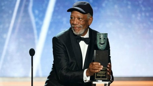 Morgan Freeman honoured with SAG Lifetime Achievement Award