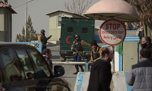 Militants kill at least 22 people while looking for foreigners at hotel in Kabul