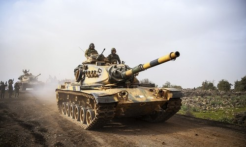 Turkey steps up assault on Kurdish militia in Syria