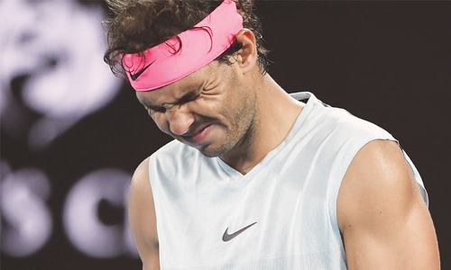Injured Nadal retires on day of upsets