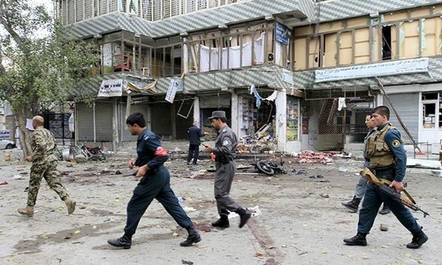 Blast outside Save the Children in eastern Afghanistan