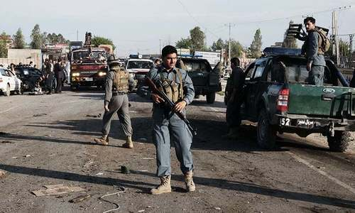 Blast outside Save the Children in eastern Afghanistan: witnesses