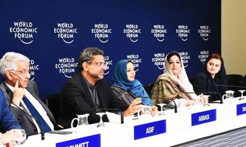 PM Abbasi hopeful of economic opportunities after World Economic Forum engagements