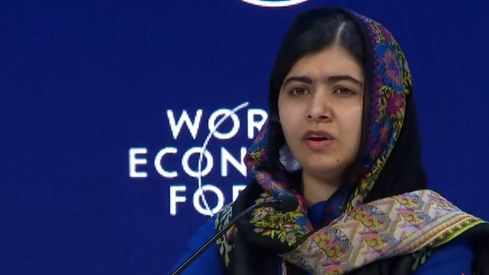 5 memorable Malala quotes from the World Economic Forum 2018