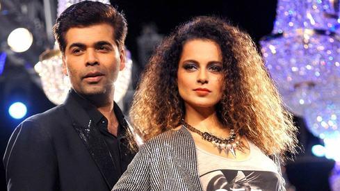 Kangana opens up about her reconciliation with Karan Johar