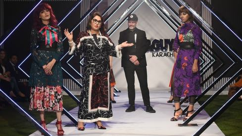 Hits and misses from Toni&Guy South Pakistan's solo hair show
