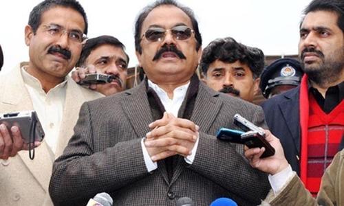 Rana Sanaullah dares opposition to quit assemblies