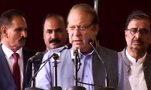 'Future of Pakistan's democracy uncertain,' Nawaz says
