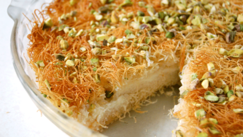 This Arabic cheese dessert recipe is the answer to all your sugar cravings