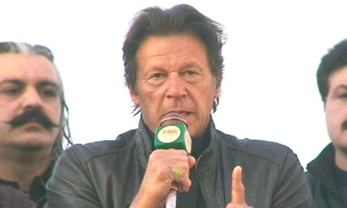 Imran Khan vows to take Mehsud protesters' demands to army chief