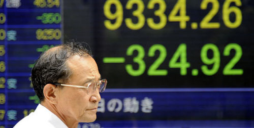 Asian stocks plunge after record-breaking loss on Wall Street