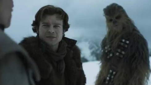 Han Solo film sneak peek hints at a star-studded cast