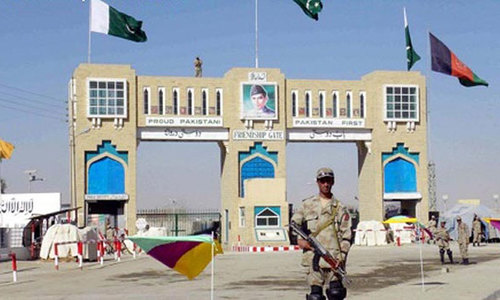 Fencing of Pak-Afghan border at Chaman to begin soon: security official
