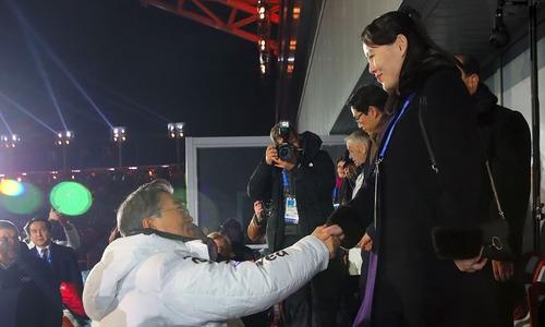 Historic handshake between Korean leaders highlights Pyeongchang Olympics opening ceremony