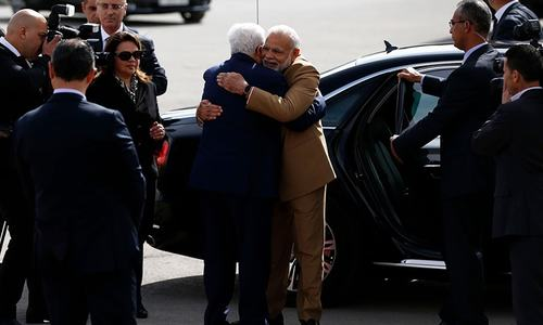 Modi becomes first Indian PM to visit Palestine