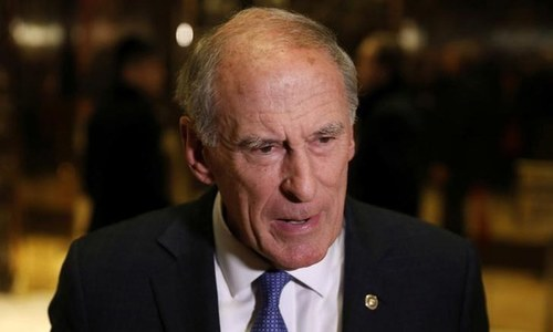 US Director of National Intelligence Dan Coats. ─Reuters/File