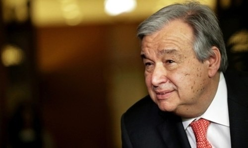 UN chief urges world support for Iraq after war with IS