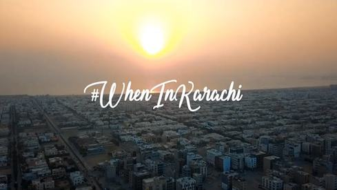 Amir Adnan's #WhenInKarachi campaign encourages us to rediscover Karachi