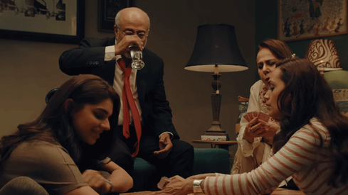 The Cake trailer tells the story of every estranged family