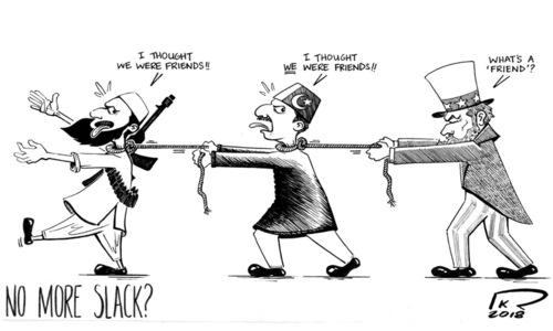Cartoon: 18 February, 2018