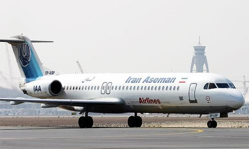 Plane crashes in Iran, killing all 65 aboard