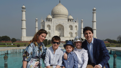 11 times the Trudeaus' family trip to India proved they're all of us on vacation