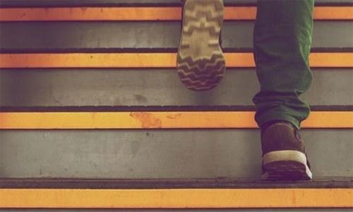 سیڑھیاں چڑھنا بلڈ پریشر کم کرنے میں مددگار