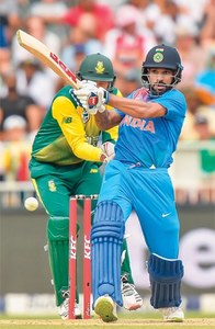 Kumar rips through SA to lead India to victory