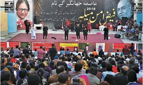 Politics, activism, human rights highlights of Faiz Aman Mela