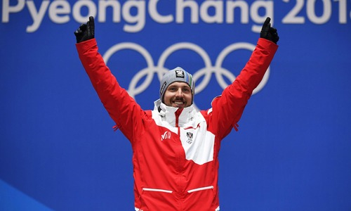 Hirscher rules slopes as Russian doping spectre returns