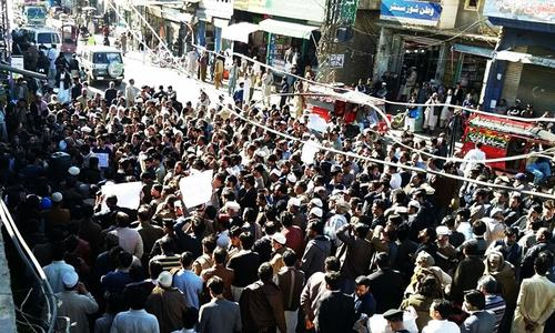 Activists condemn FIR against people who protested strict checking in Swat