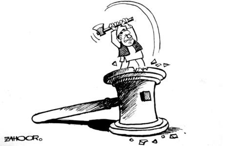 Cartoon: 21 February, 2018
