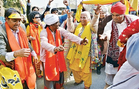 Rally marks mother language day
