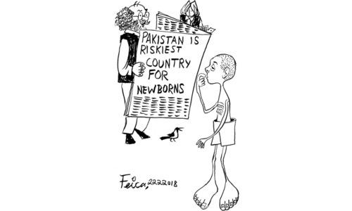 Cartoon: 22 February, 2018