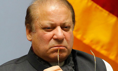 What choices does Nawaz Sharif have now?