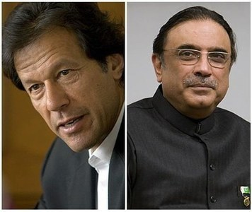 Imran hails SC ruling, Zardari warns against confrontation