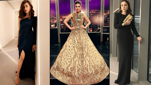 Who wore the better red carpet gown at the Lux Style Awards 2018?