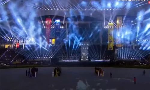 Music, festivities and fireworks aplenty as PSL 2018 opening ceremony kicks off in Dubai