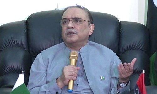 PML-N govt only spent money on Lahore, didn't give 'due share' to any province: Zardari
