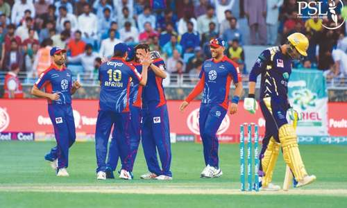 Afridi's magic helps Karachi finally tame Quetta