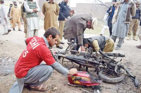 Two injured as bomb targets PDMA vehicle