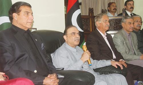 Zardari defends decision of sending troops to S. Arabia