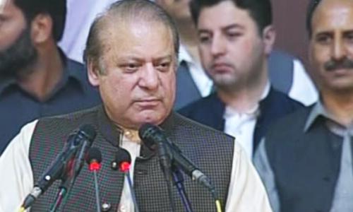 SC verdicts 'pre-poll rigging': Sharif