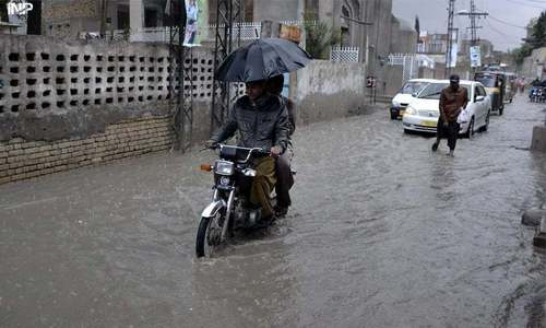 Heavy rains break dry spell in Balochistan