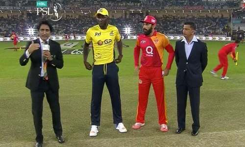 Islamabad United win toss, elect to bowl in first encounter with Peshawar Zalmi