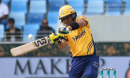 LIVE: Islamabad United in deep trouble against Peshawar Zalmi