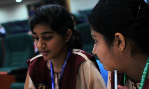 Girls take lead in the regional round of Math Challenge 2018 in Karachi