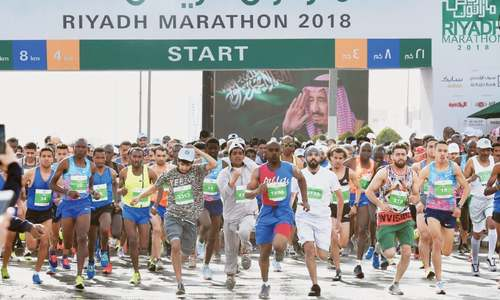 Riyadh hosts first international half-marathon