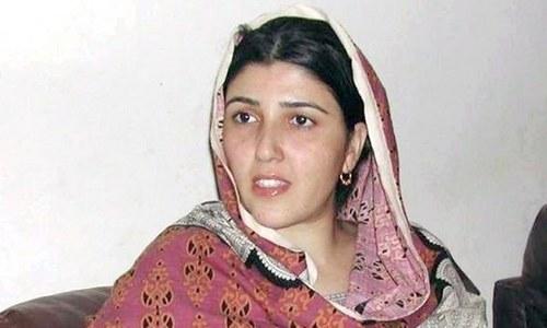 مسلم لیگ (ن) پر الزامات، عائشہ گلالئی کو نوٹس جاری