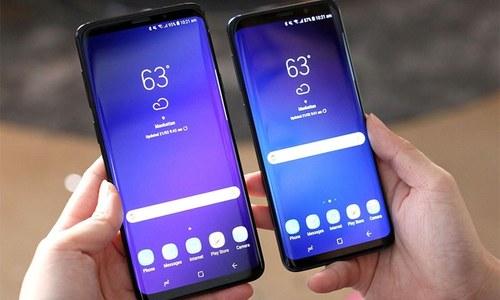 سام سنگ کے 2 نئے فلیگ شپ فون ایس نائن اور ایس 9 پلس